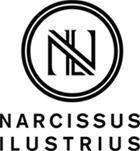 Narcissus Ilustrius. The work of Narcis Lupou. Logo