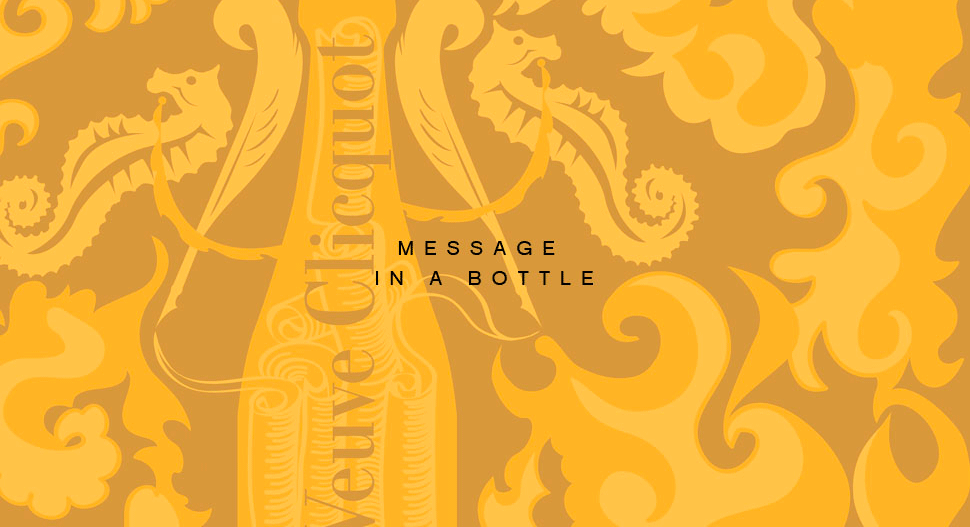 Message In A Bottle Veuve Cliquot Mailbox Narcissus